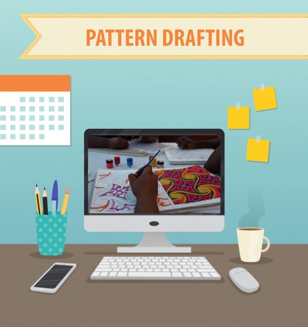 C. Pattern Drafting